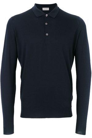 JOHN SMEDLEY Belper knitted polo shirt