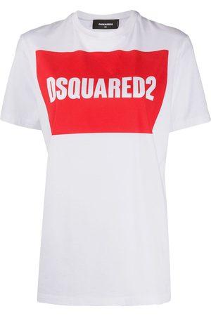 Dsquared2 Boxed logo cotton T-shirt