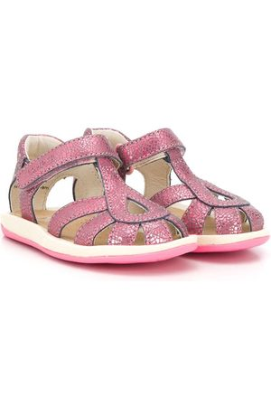 Camper Kids Bicho metallic effect sandals