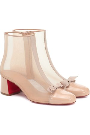 Christian Louboutin Checkypoint mesh ankle boots