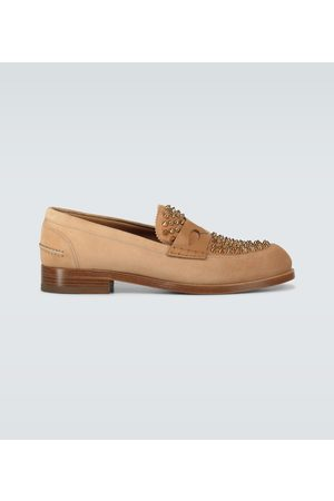 Christian Louboutin Montezupik suede loafers