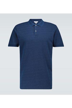 Sunspel Piqué cotton polo shirt