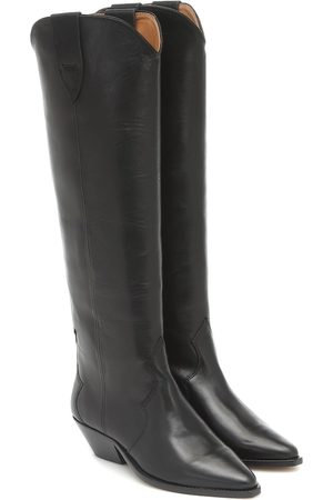 Isabel Marant Denvee leather knee-high boots
