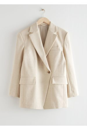 & OTHER STORIES Dropped Shoulder Straight Fit Blazer