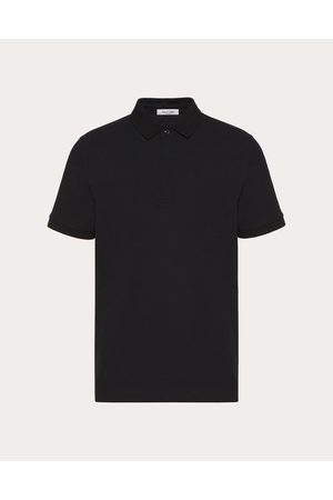 VALENTINO Iconic Stud Polo Shirt Man Cotton 100% M