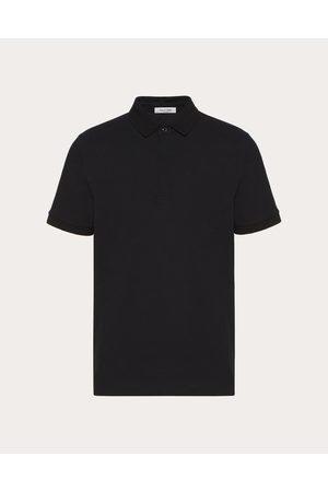 VALENTINO Iconic Stud Polo Shirt Man Cotton 100% M
