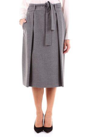 T Jacket Knee-length Women Grey