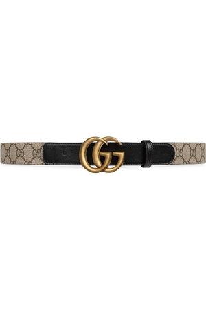 Gucci Women Belts - Double G buckle GG belt