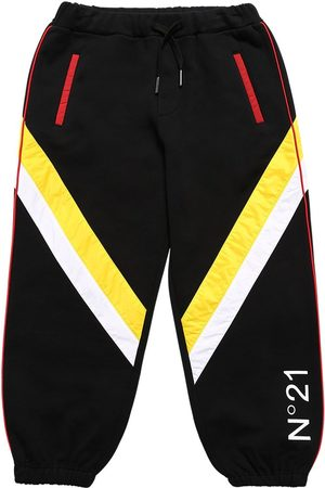 Nº21 Cotton Sweatpants W/ Nylon Insert