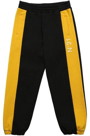 Nº21 Logo Print Cotton Sweatpants