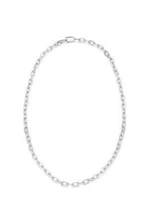 Monica Vinader Sterling Silver Alta Capture Mini Link Necklace