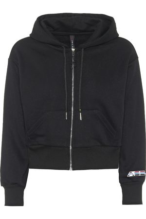 Adam Selman Sport Cotton-blend hoodie