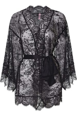 Agent Provocateur Women Bathrobes - Daniela Kimino In Floral Lace
