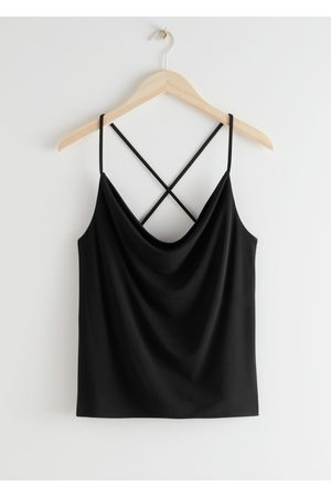 & OTHER STORIES Criss Cross Spaghetti Strap Top