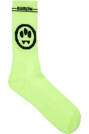 BARROW Mono Logo Cotton Socks