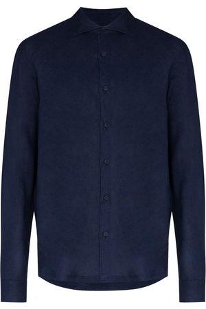Orlebar Brown Men Long sleeves - Giles long-sleeve shirt