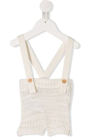 MESSAGE IN THE BOTTLE Kandinsky knitted dungarees