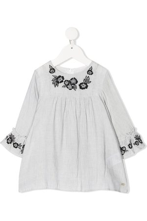 Tartine Et Chocolat Floral embroidery blouse