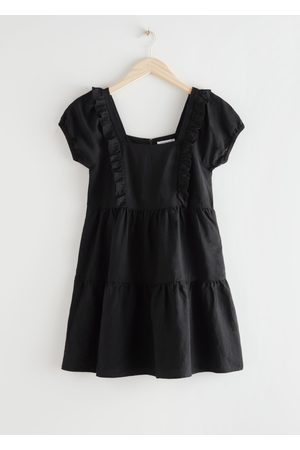 & OTHER STORIES Women Party Dresses - Tiered Ruffle Mini Dress