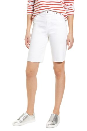 HUE Women's High Waist Bermuda Shorts