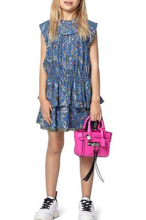 Zadig & Voltaire Girls' Freja Paisley Print Dress - Little Kid, Big Kid
