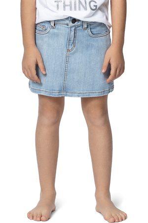 Zadig & Voltaire Girls' Ann Rainbow-Back Jean Skirt - Little Kid, Big Kid