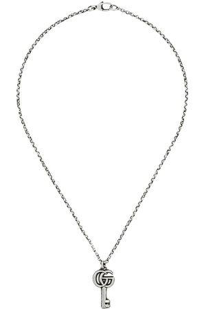 Gucci Necklaces - Double G key charm necklace