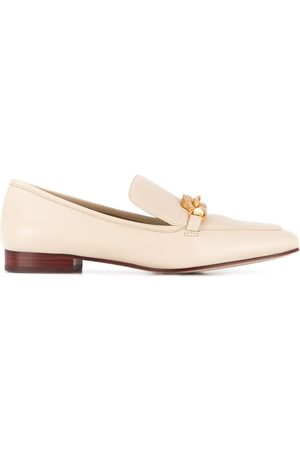 Tory Burch Jessa 25mm pebbled loafers - Neutrals