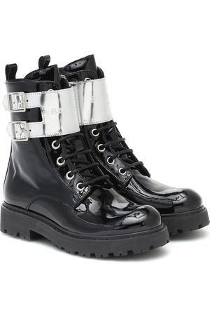 Balmain Patent-leather ankle boots
