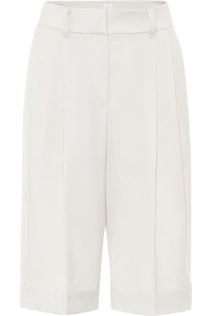 Brunello Cucinelli Virgin wool Bermuda shorts