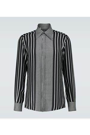 Dolce & Gabbana Long-sleeved silk shirt