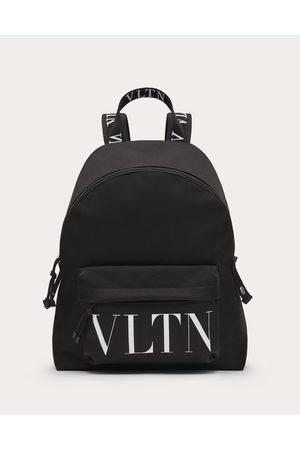 VALENTINO GARAVANI Men Rucksacks - Vltn Nylon Backpack Man / 100% Pelle Bovina - Bos Taurus OneSize