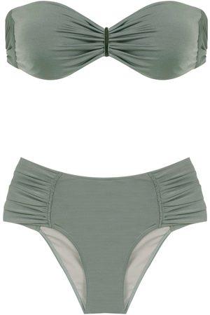 Brigitte Women Bikinis - Ruched bikini set