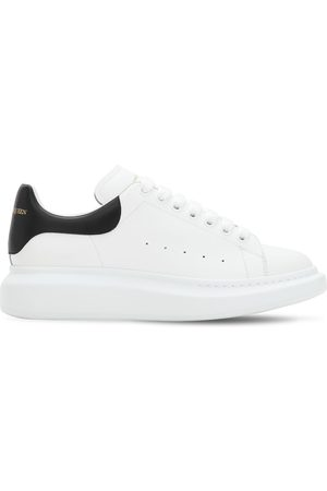 Alexander McQueen 45mm Leather Platform Sneakers