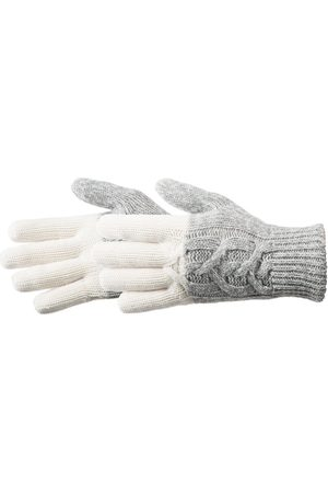 Acorn Women's Colorblocked Cable Knit Gloves