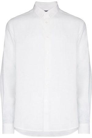 Vilebrequin Men Long sleeves - Long-sleeve linen shirt
