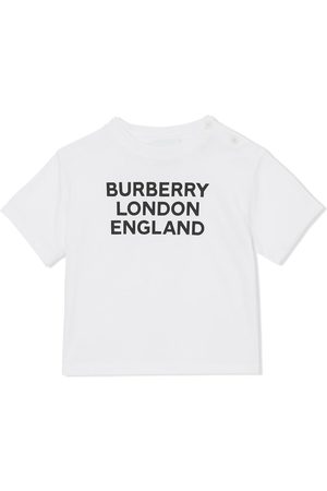 Burberry Logo-print cotton T-shirt
