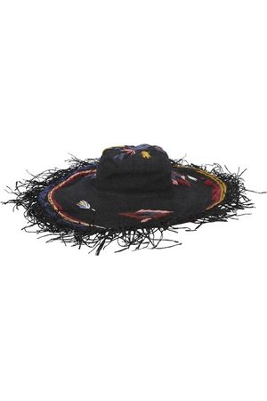 FORTE FORTE Fringed embroidered hat