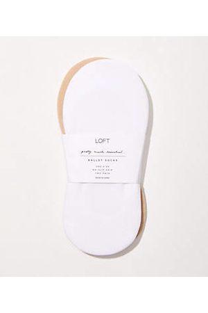 LOFT Women Ballerinas - Ballet Flat No Show Sock Set