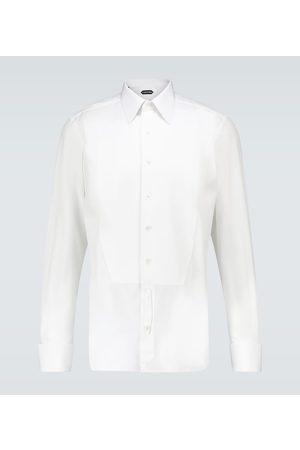 Tom Ford Piquet Palstron evening cotton shirt