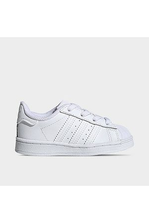 adidas Kids' Toddler Originals Superstar Casual Shoes in Size 5.5 Leather
