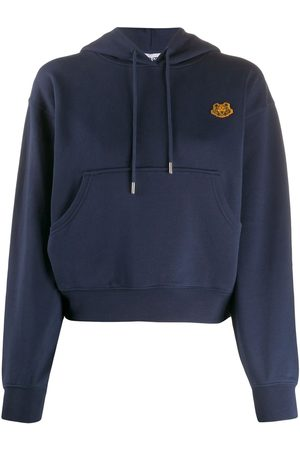 Kenzo Tiger patch hoodie
