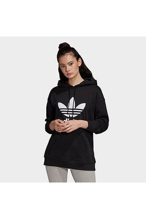 adidas Women's Originals Heritage Trefoil Logo Hoodie in Size X-Small Cotton/Polyester