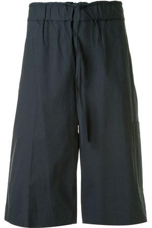 3.1 Phillip Lim Washed poplin pull-on shorts