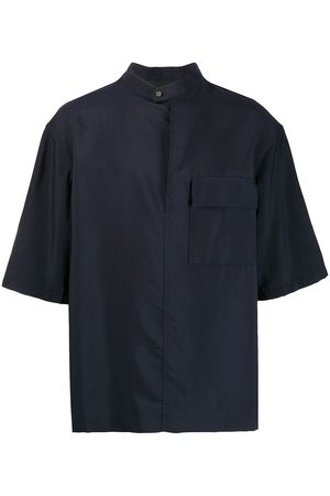 3.1 Phillip Lim Oversized band collar shirt