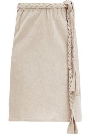 BELIZE Phoebe Cotton-blend Midi Skirt - Womens