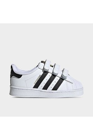 adidas Boys' Toddler Originals Superstar Hook-and-Loop Casual Shoes