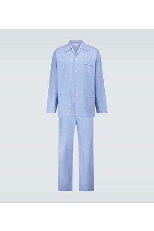 DEREK ROSE Arran 24 cotton pajama set