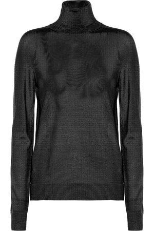 Jil Sander Cashmere-blend turtleneck sweater