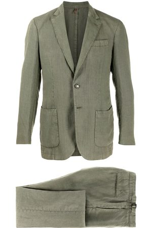 DELL'OGLIO Men Blazers - Single-breasted notched lapels suit